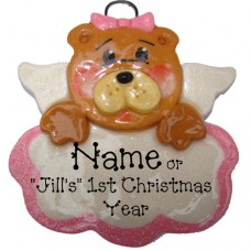 Baby Bear Pink Ornament