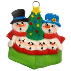 Carolers Family of 6 Ornament