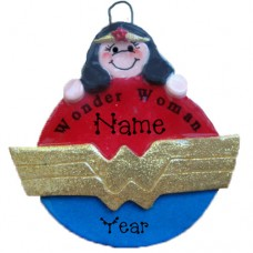 *Woman Ornament Super Hero