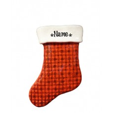 Buffalo Plaid Stocking Ornament