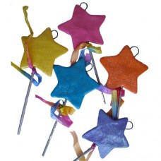 *SALE*.....Star Wand with Ribbon Ornament