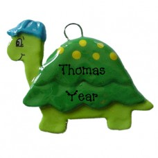 Tommy Turtle Ornament