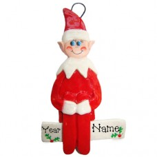 Elf on a Shelf Ornament
