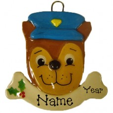 *Police Dog Ornament