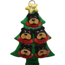 SALE*.....Black Bear in a Tree Family of 5