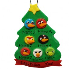 SALE*.....Angry Bird Family or group of 7