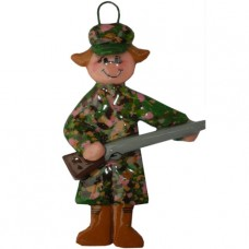 Girl Duck Hunter Ornament